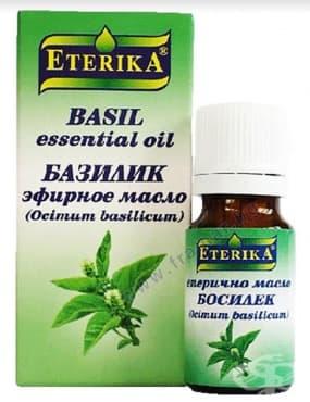 Изображение към продукта ЕТЕРИКА ЕТЕРИЧНО МАСЛО ОТ БОСИЛЕК 5 мл