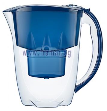 Изображение към продукта АКВАФОР АМЕТИСТ СИНЯ КАНА ЗА ФИЛТРИРАНЕ НА ВОДА 2.8 литра В 25+