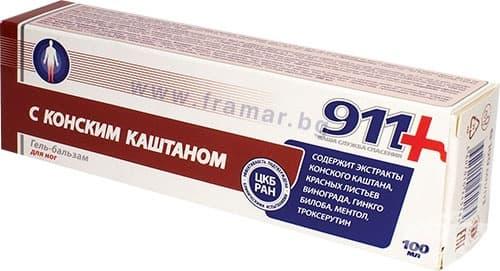 Изображение към продукта КОНСКИ КЕСТЕН гел - балсам при умора и оток в краката 100 мл.