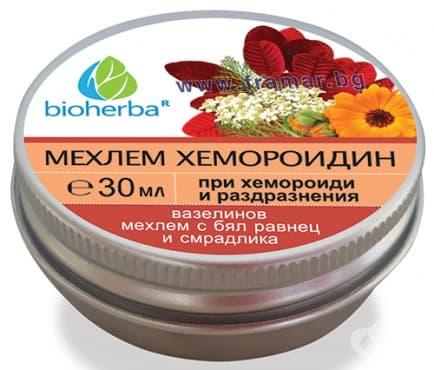 Изображение към продукта БИОХЕРБА МЕХЛЕМ ХЕМОРОИДИН 30 мл