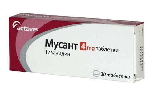 Изображение към продукта МУСАНТ таблетки 4 мг * 30 АКТАВИС