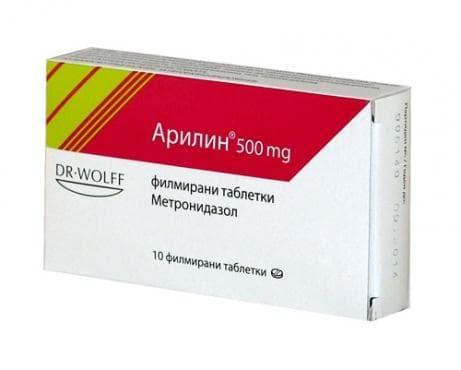 Изображение към продукта АРИЛИН таблетки 500 мг * 10 DR. WOLF