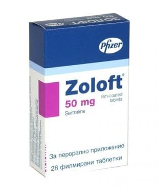 ЗОЛОФТ табл. 50 мг. * 28 - изображение