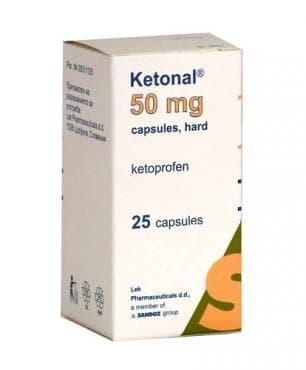 КЕТОНАЛ капс. 50 мг * 25 - изображение