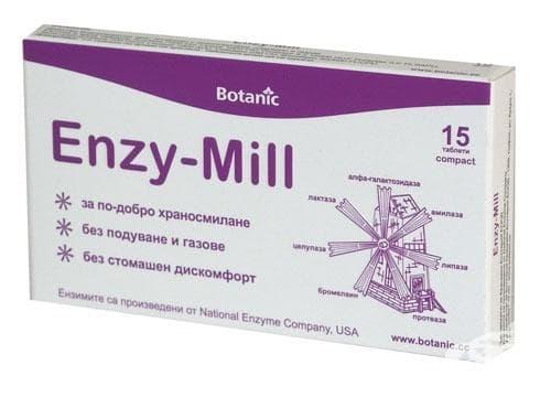 Изображение към продукта ЕНЗИ - МИЛ таблетки * 15 БОТАНИК