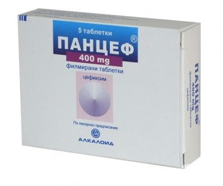 ПАНЦЕФ таблетки 400 мг. * 5 - изображение