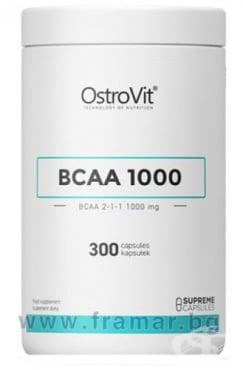 Изображение към продукта ОСТРОВИТ BCAA 1000 mg  капсули * 300