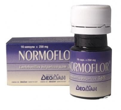 НОРМОФЛОР капс.  250 мг. * 16 - изображение