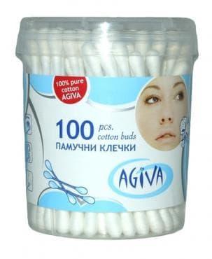 Изображение към продукта АГИВА ТУПФИ ЗА УШИ * 100 бр В КУТИЯ