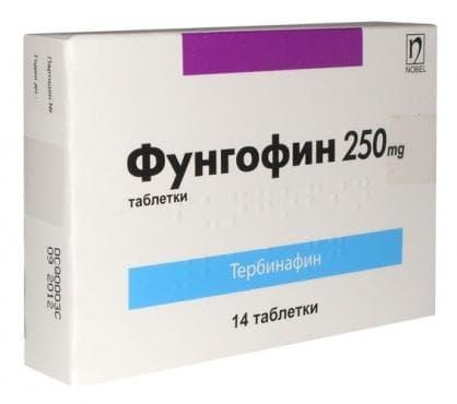ФУНГОФИН табл. 250 мг. * 14 - изображение