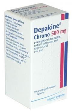 ДЕПАКИН ХРОНО табл. 500 мг. * 30 SANOFI - AVENTIS - изображение