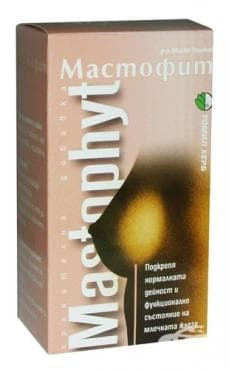 Изображение към продукта МАСТОФИТ таблетки * 120 ТОШКОВ