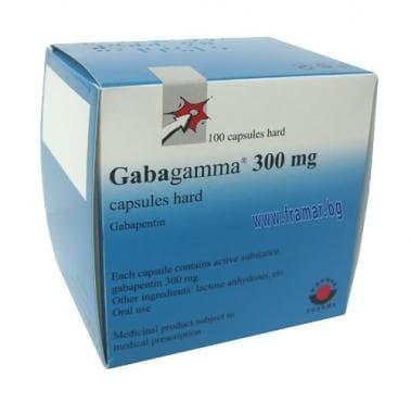 Изображение към продукта ГАБАГАММА капсули 300 мг. * 100