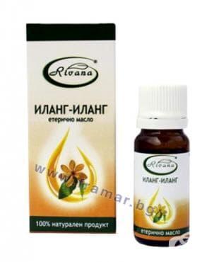 Изображение към продукта РИВАНА ЕТЕРИЧНО МАСЛО ОТ ИЛАНГ - ИЛАНГ 10 мл.