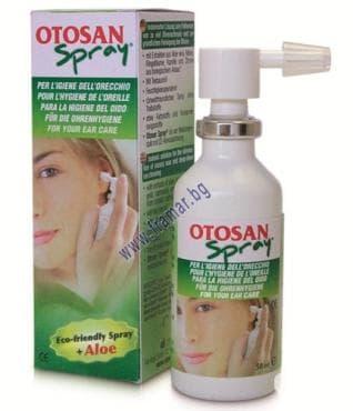 Изображение към продукта ОТОСАН спрей за уши 50 мл.