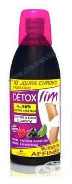 Изображение към продукта ДЕТОКС ЛИМ напитка 500 мл.