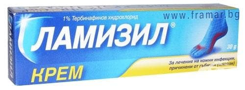 Изображение към продукта ЛАМИЗИЛ крем 1 % 30 гр.
