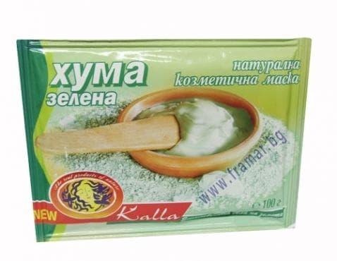 ХУМА ЗЕЛЕНА 100 гр. плик ГЕОНЕД - изображение