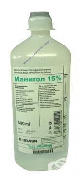 МАНИТОЛ БАНКА 15% 500 мл. - изображение