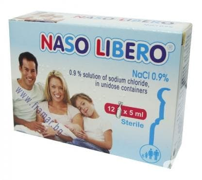Изображение към продукта НАЗО ЛИБЕРО солуцио 5 мл. * 12