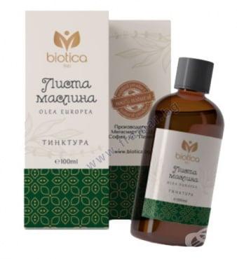 Изображение към продукта МАСЛИНА ЛИСТА тинктура 100 мл БИОТИКА
