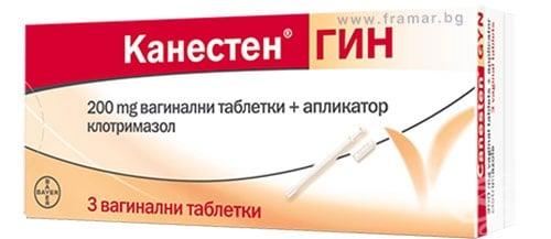 Изображение към продукта КАНЕСТЕН ГИН вагинални таблетки 200 мг * 3 BAYER