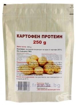 Изображение към продукта КАРТОФЕН ПРОТЕИН 250 г ЯЖ ПОЛЕЗНО