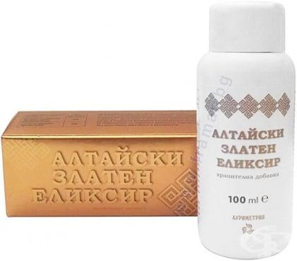 Изображение към продукта АЛТАЙСКИ ЗЛАТЕН ЕЛИКСИР 100 мл АУРИМЕТРИЯ
