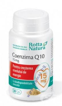 РОТА НАТУРА КОЕНЗИМ Q10 капсули 15 мг * 30 - изображение