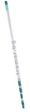 ЛЕЙФХЕЙТ РЕГУЛИРУЕМА ТЕЛЕСКОПИЧНА ДРЪЖКА ИЗИ-КЛИК 145 - 400 см. 41523 - изображение