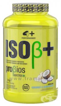 Изображение към продукта 4+ НУТРИШЪН ISO+ СУРОВАТЪЧЕН ПРОТЕИН 2 кг / 66 дози
