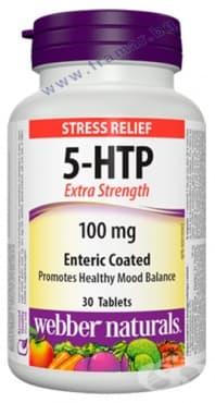 Изображение към продукта 5-ХИДРОКСИТРИПТОФАН таблетки 100 мг * 30 УЕБЪР НАТУРАЛС