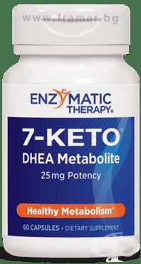 7-КЕТО ДХЕА МЕТАБОЛИТ капсули 25 мг. * 60 ЕНЗИМАТИК ТЕРАПИ - изображение