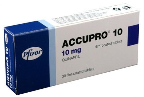 Изображение към продукта АКУПРО таблетки 10 мг * 30