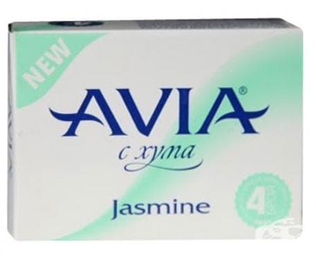 Изображение към продукта АВИА САПУН С ХУМА JASMINE 25 гр. * 4