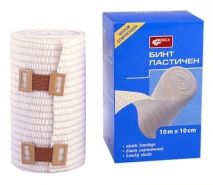 Изображение към продукта БИНТ ЛАСТИЧЕН 10 м. / 10 см.
