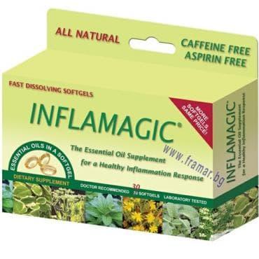 Изображение към продукта ИНФЛАМЕДЖИК капсули 175 мг * 30 NATURAL MIRACLES