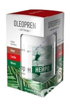 Изображение към продукта ОЛЕОПРЕН НЕВРО капсули 790 мг * 60