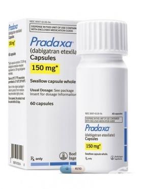 Изображение към продукта ПРАДАКСА капсули 150 мг. * 60