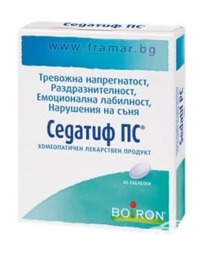 Изображение към продукта СЕДАТИФ PC таблетки * 40