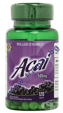 АКАЙ БЕРИ таблетки 500 мг * 120 HOLLAND & BARRETT - изображение