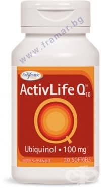 АКТИВЛАЙФ Co Q10 капсули 100 мг * 30 ЕНЗИМАТИК ТЕРАПИ   - изображение