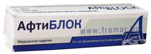АФТИБЛОК гел 8 гр. - изображение