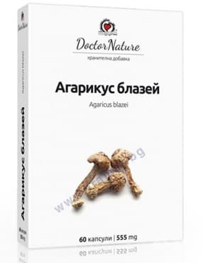 АГАРИКУС БЛАЗЕЙ капсули * 60 DOCTOR NATURE - изображение