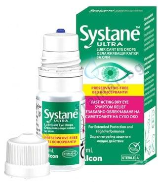 Изображение към продукта СИСТЕЙН УЛТРА капки за очи без консерванти 10 мл ALCON
