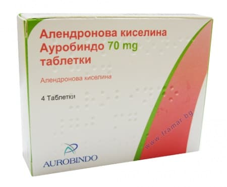 АЛЕНДРОНИК АЦИД таблетки 70 мг.* 4 - изображение