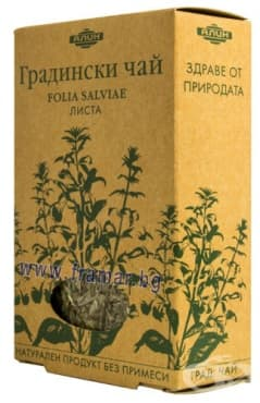 Изображение към продукта АЛИН ГРАДИНСКИ ЧАЙ ЛИСТА 50 гр.