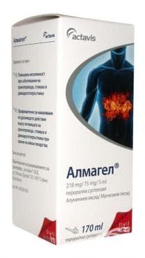Изображение към продукта АЛМАГЕЛ орал. сусп. 170 мл.