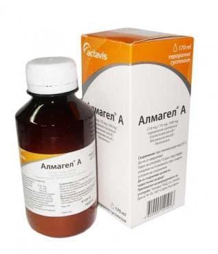 Изображение към продукта АЛМАГЕЛ А орал. сусп. 170 мл.