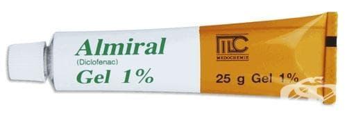 АЛМИРАЛ гел 1% 25 гр. - изображение